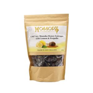 慕氏UMF 12+麥蘆卡蜂蜜潤喉糖-檸檬蜂膠 500克