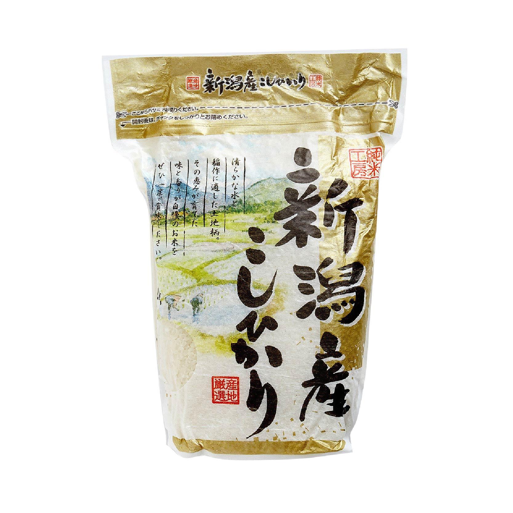 日本純米工房新潟產越之光米 2 公斤