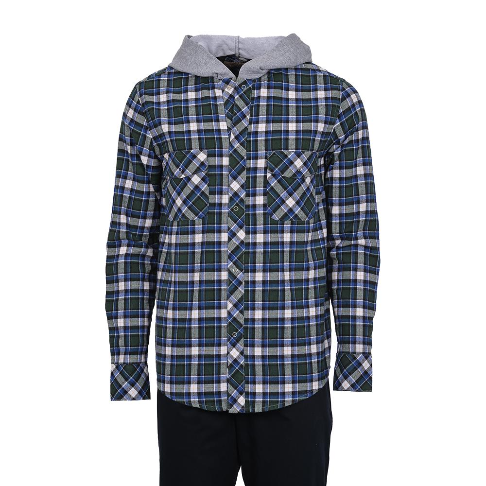 Cotton Mix Slim Fit Long Sleeve Shirt WST18F004