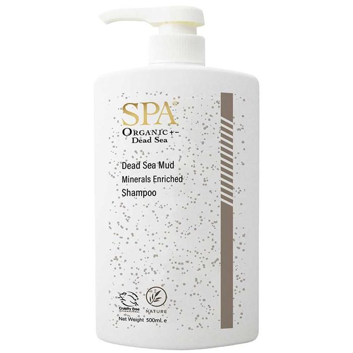 SPA Dead Sea Mud Minerals Enriched Shampoo (500ml) SP83