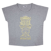 Dr. Slump Ladies Cotton T-Shirt 201AQ115 - Grey