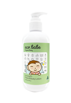 eco.babe organics Hypoallergenic face & body lotion 225ml