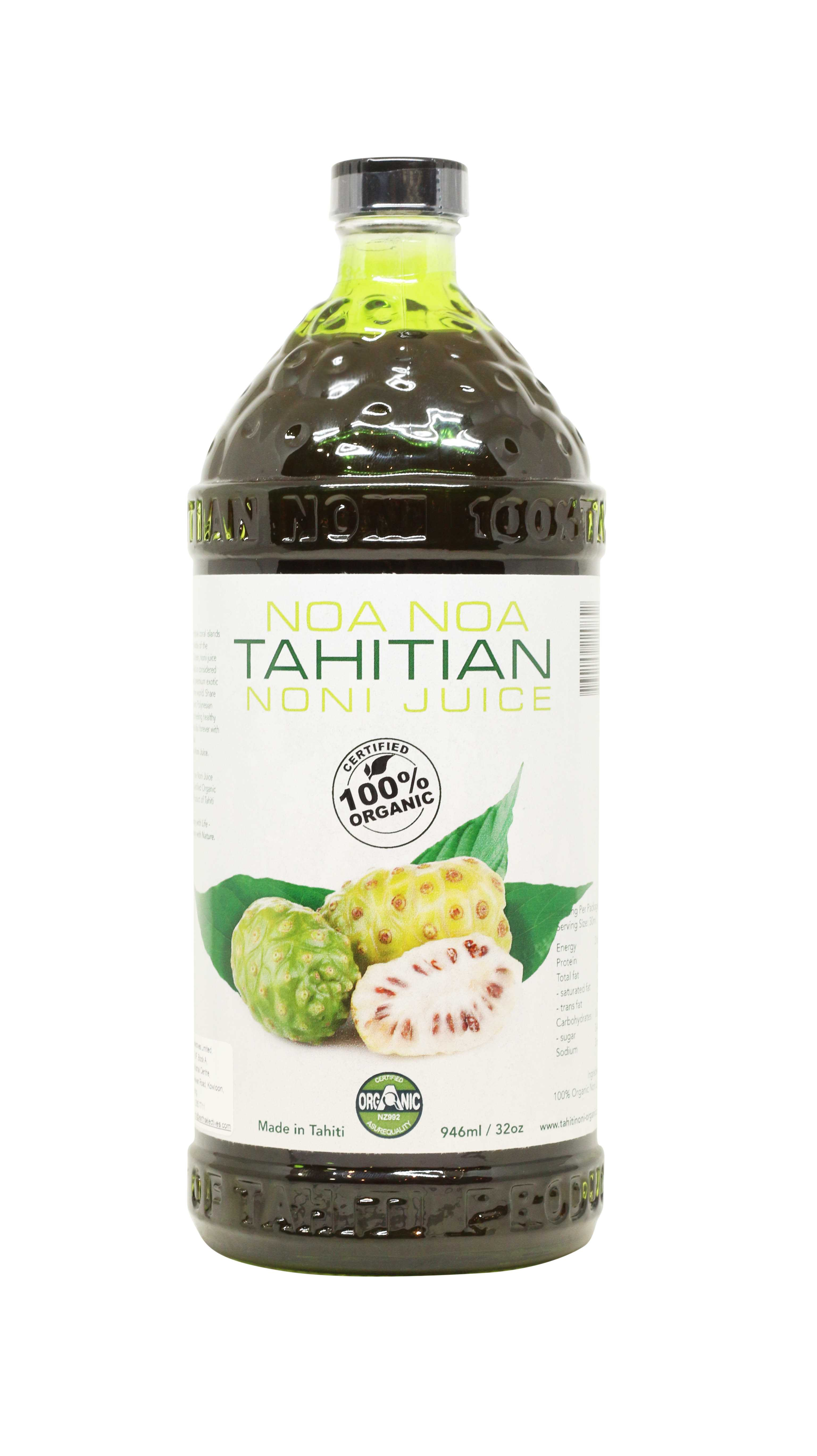 Noanoa Tahitian 有机大溪地诺丽汁