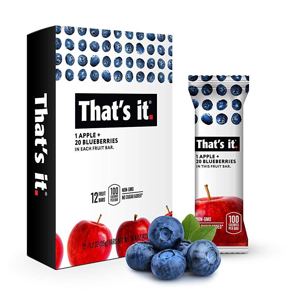 That's it - 蓝莓苹果水果棒(12pcs)