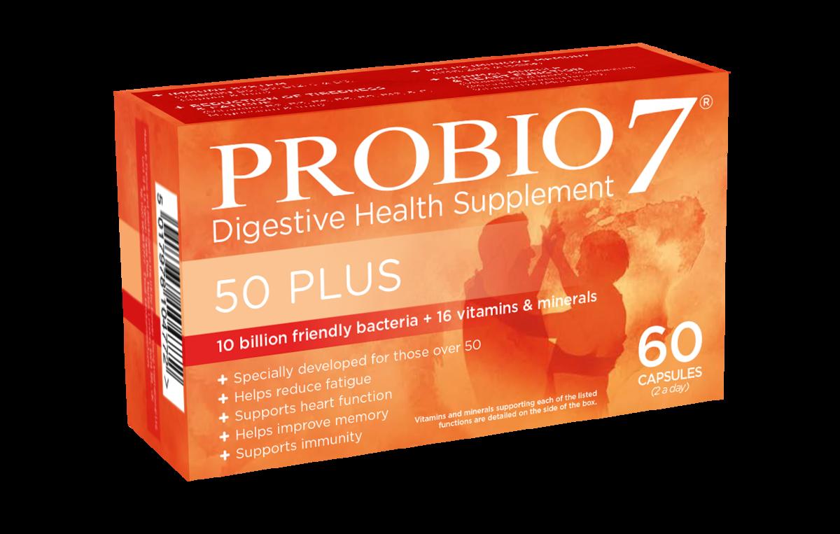 Probio7 50+中老年维生素矿物质益生菌(60粒装)