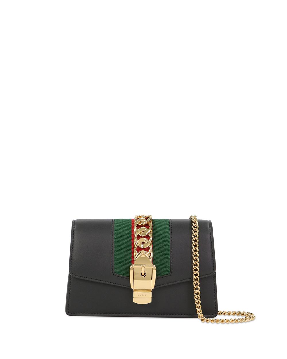 Sylvie Leather Super Mini Bag 494646CWLSG1060