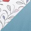 水藍 (9435) + 彩色拼花圖案 (CM#KT70-2)