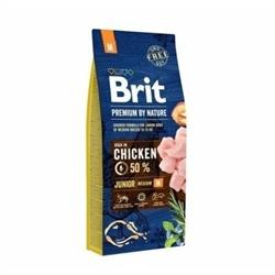 Brit Premium 中型幼犬糧 (中粒) 15KG