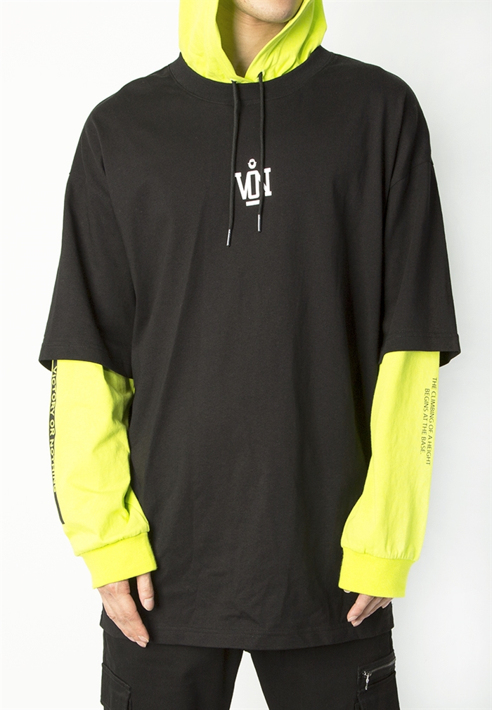 BSX Oversize double layer Tee (10408061101)